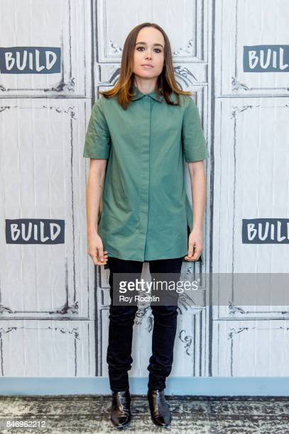 Ellen Page discusses 'Flatliners' with the Build Series at Build Studio on September 14 2017 in New York City
