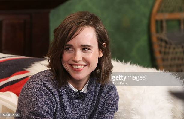 Ellen Page from the film 'Tallulah' attends The Hollywood Reporter 2016 Sundance Studio at Rock Reilly's Day 1 on January 22 2016 in Park City Utah