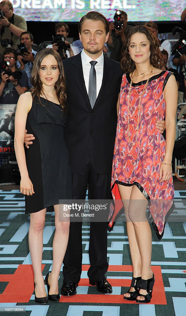 ¿Cuánto mide Ellen Page? (Elliot Page) - Altura - Real height Ellen-page-leonardo-dicaprio-and-marion-cotillard-attend-arrives-at-picture-id102713204