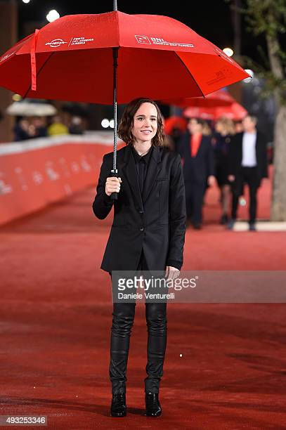 Ellen Page walks the red carpet for 'Freeheld' during the 10th Rome Film Fest at Auditorium Parco Della Musica on October 18 2015 in Rome Italy