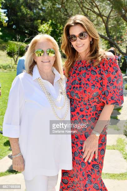 Ellen Peckman and Cindy Crawford attend Cindy Crawford and Kaia Gerber host Best Buddies Mother's Day Brunch in Malibu CA sponsored by David Yurman...