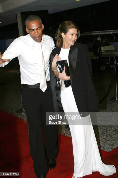Ellen Pompeo and Christopher Ivery during Paramount Pictures Hosts 2007 Golden Globe Award AfterParty at Beverly Hilton Hotel in Beverly Hills...