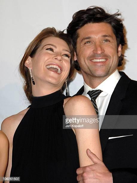 Ellen Pompeo and Patrick Dempsey winners Favorite TV Drama for 'Grey's Anatomy'