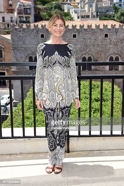Ellen Pompeo attends Day 4 of the 61st Taormina Film Fest on June 16 2015 in Taormina Italy