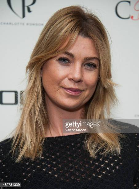 Ellen Pompeo attends the Council Of Fashion Designers Of America Celebrate The Launch Of The 4th Annual Design Series For Vogue Eyewearon party on...