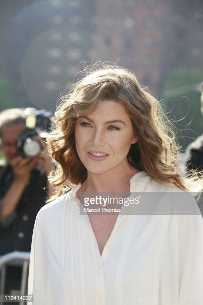 Ellen Pompeo during 2007 ABC Network UpFront at Lincoln Center in New York City New York United States
