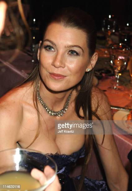 Ellen Pompeo during 58th Annual Primetime Emmy Awards Governors Ball at The Shrine Auditorium in Los Angeles California United States