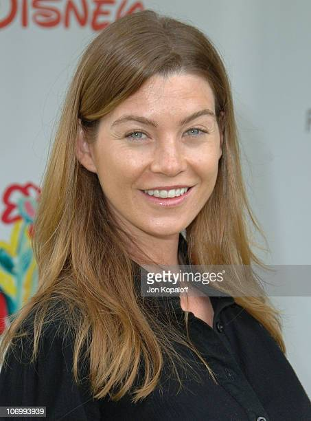 Ellen Pompeo during 'A Time for Heroes' Carnival Hosted By Disney Arrivals at Wadsworth Theater in Westwood California United States