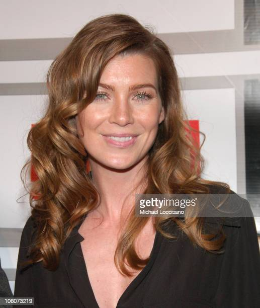 Ellen Pompeo during Entertainment Weekly/Matrix Men 2006 Upfront Party at The Manor in New York City New York United States