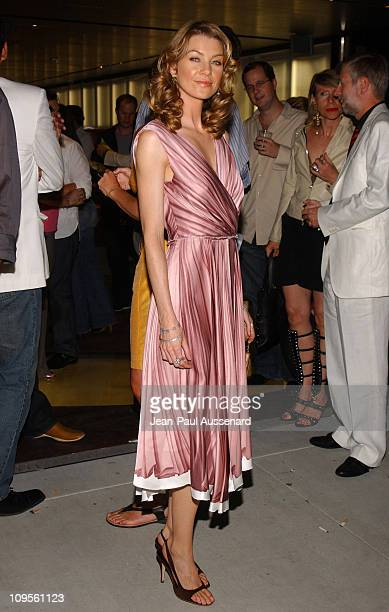 Ellen Pompeo during Prada Opens Beverly Hills Epicenter Arrivals at Rodeo Drive in Beverly Hills California United States