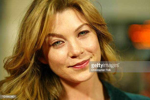 Ellen Pompeo during World Premiere of DreamWorks' 'House of Sand And Fog' at ArcLight Cinerama Dome in Hollywood California United States
