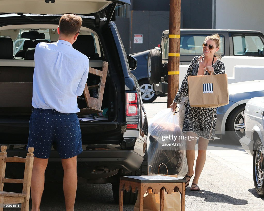 Ellen Pompeo is seen on June 20, 2014 in Los Angeles, California.