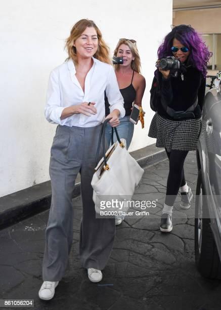 Ellen Pompeo is seen on October 13 2017 in Los Angeles California