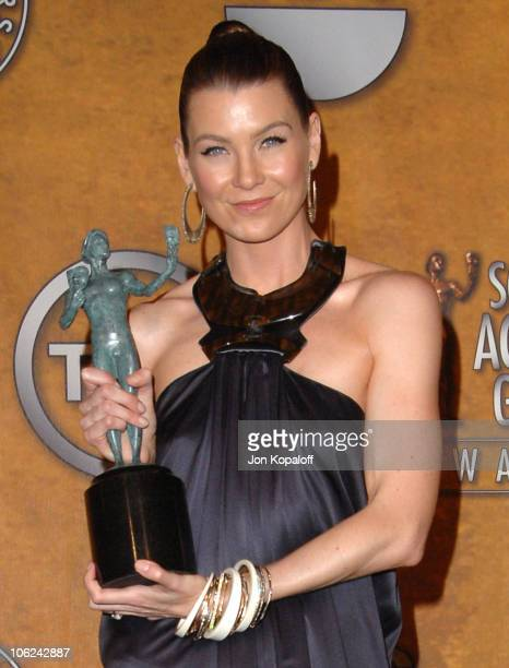 Ellen Pompeo of 'Grey's Anatomy' winner Outstanding Performance by an Ensemble in a Drama Series