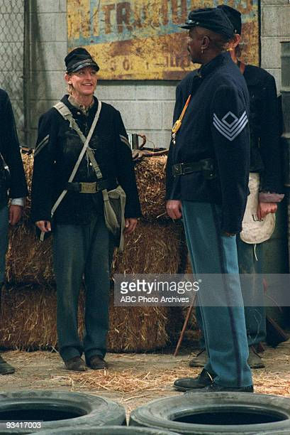 ELLEN 'GI Ellen' Season Five 11/5/97 Ellen endured boot camp with the sadistic Sgt Timko at her father's annual Civil War reenactment