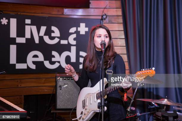Ellen Smith of Shadowlark performs at Nation Of Shopkeepers during Live At Leeds on April 29 2017 in Leeds England Live at Leeds is a music festival...