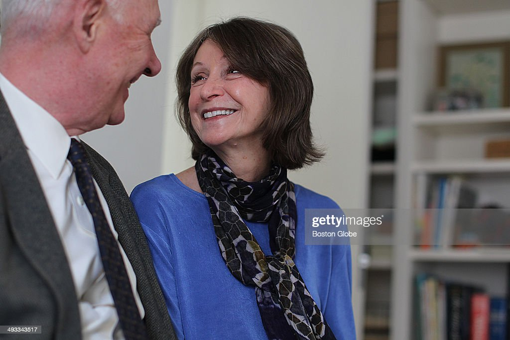 Ellen Steinbaum with husband Jim Dalsimer. She is a poet and contributed poems to the new Widows anthology. Her first husband died at 58, she remarried several years later.