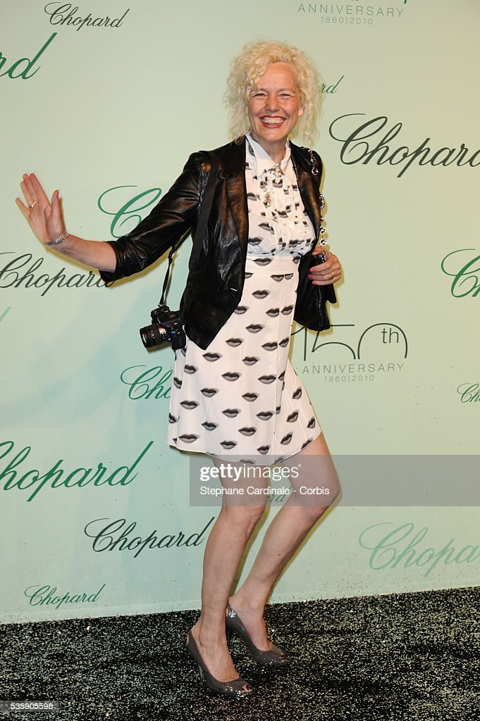 Ellen Von Unwerth at the 'Chopard 150th Anniversary Party' during the 63rd Cannes International Film Festival.