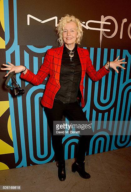 Ellen von Unwerth attends the MAC Pro to Pro Textile Party at London's Camden Roundhouse on April 29 2016 in London England