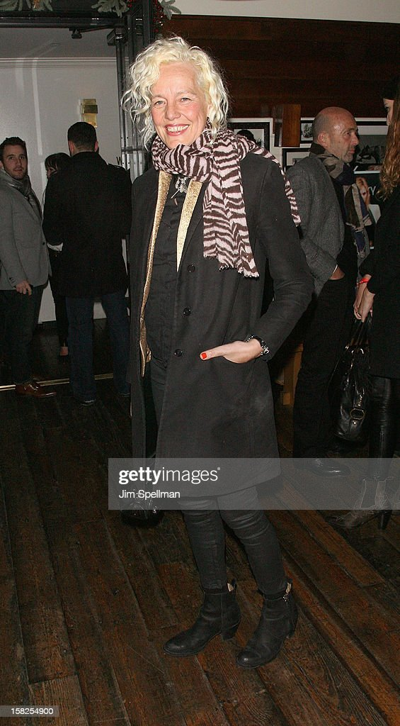 Ellen von Unwerth attends The Weinstein Company with The Hollywood Reporter, Samsung Galaxy & The Cinema Society screening of 'Django Unchained' after party at the The Standard Hotel on December 11, 2012 in New York City.