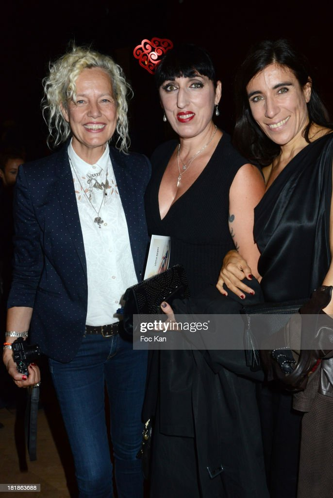 Ellen von Unwerth, Rosy de Palma and <a gi-track='captionPersonalityLinkClicked' href=/galleries/search?phrase=Blanca+Li&family=editorial&specificpeople=2156230 ng-click='$event.stopPropagation()'>Blanca Li</a> attend the Azzedine Alaia Exhibition : At Palais Galliera, Fashion Museum In Paris on September 25, 2013 in Paris, France.
