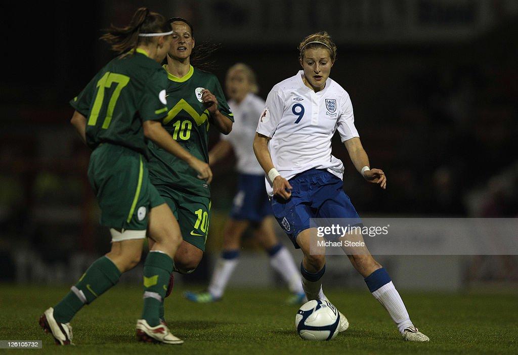 England v Slovenia  - UEFA Women's Euro 2013 Qualifier