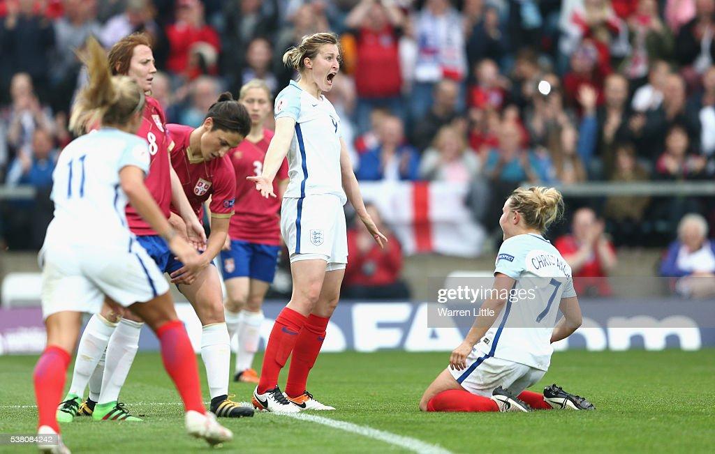 England v Serbia: UEFA Women's European Championship Qualifiers