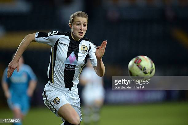 Ellen White of Notts County Ladies FC at Meadow Lane on April 29 2015 in Nottingham England