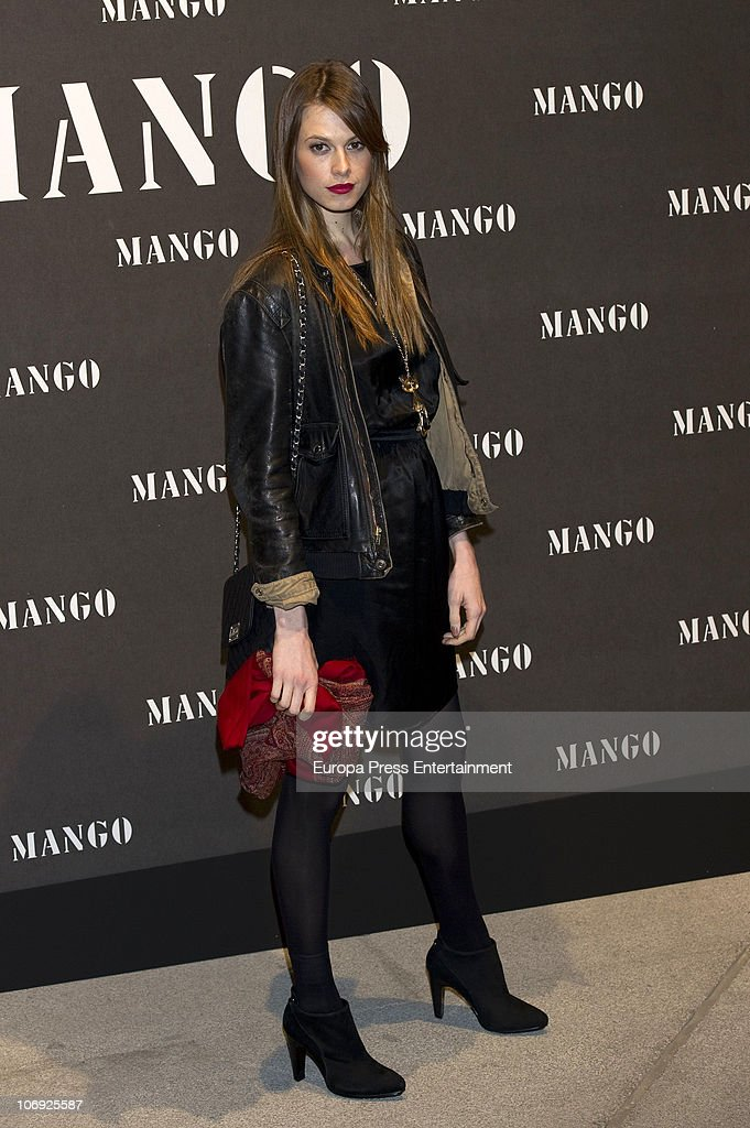 Elletra Wiedemann Rossellini attends the launch of Mango new spring/summer 2011 collection at the Palacio de Cibeles on November 16, 2010 in Madrid, Spain.