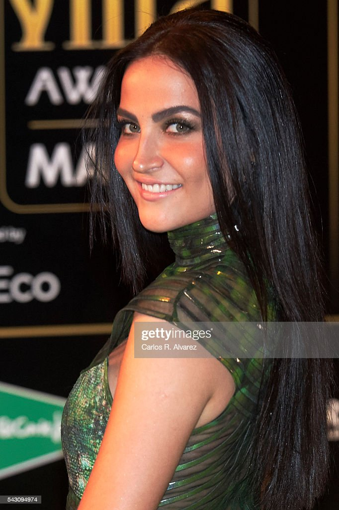 Elli Avram attends the 17th IIFA Awards (International Indian Film Academy Awards) at Ifema on June 25, 2016 in Madrid, Spain.