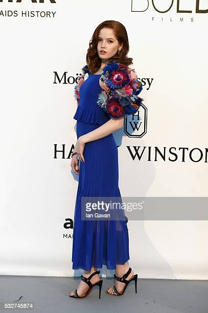 Ellie Bamber arrives at amfAR's 23rd Cinema Against AIDS Gala at Hotel du CapEdenRoc on May 19 2016 in Cap d'Antibes France