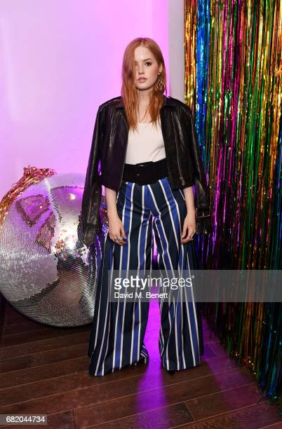 Ellie Bamber attends the launch of The Curtain in Shoreditch on May 11 2017 in London England
