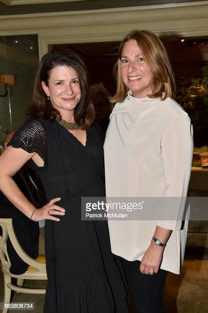 Ellie Barancik and Jill Barancik attend the launch of Second Bloom Cathy Graham's Art of the Table hosted by Joanna Coles and Clinton Smith at...