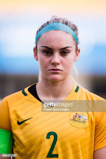 Ellie Carpenter of Australia during their AFC U19 Women's Championship 2017 SemiFinals match between North Korea and Australia at Jiangning Sports...