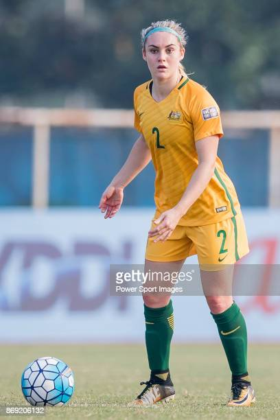 Ellie Carpenter of Australia in action during their AFC U19 Women's Championship 2017 Group Stage match between Australia vs Vietnam on 22 October...