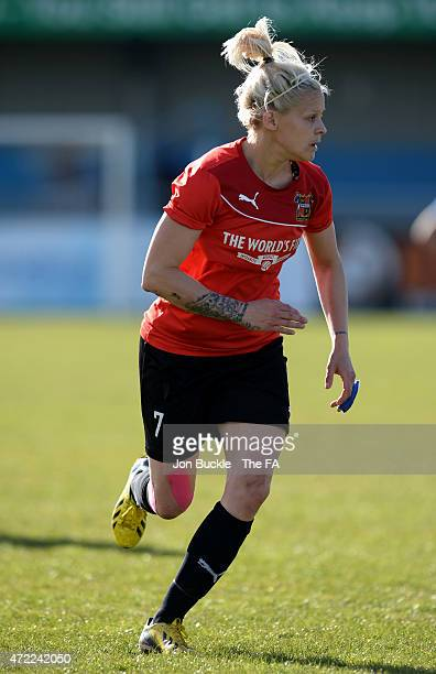 Ellie Gilliatt of Sheffield FC Ladies during the FA Women's Premier League Cup Final between Sheffield FC Ladies and Charlton Athletic WFC at James...