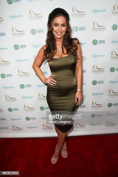 Ellie Gonsalves attends the Steve Irwin Gala Dinner at the SLS Hotel at Beverly Hills on May 13 2017 in Los Angeles California