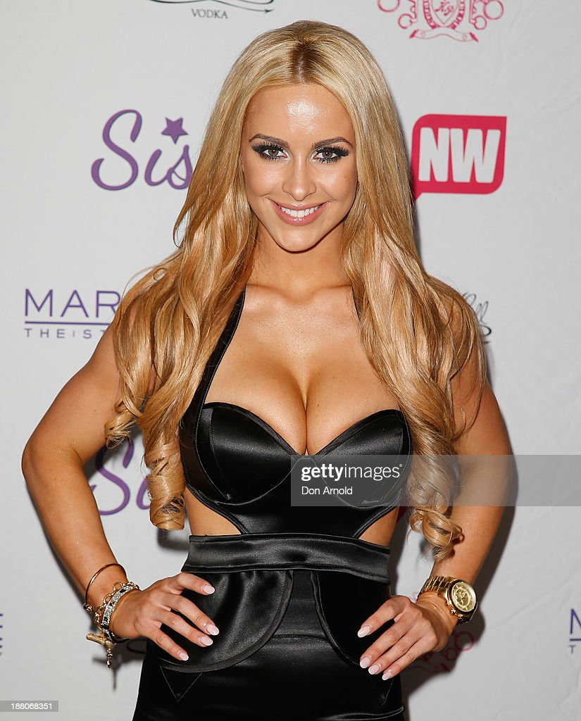 Ellie Gonzalez appears at Marquee Nightclub on November 15, 2013 in Sydney, Australia.