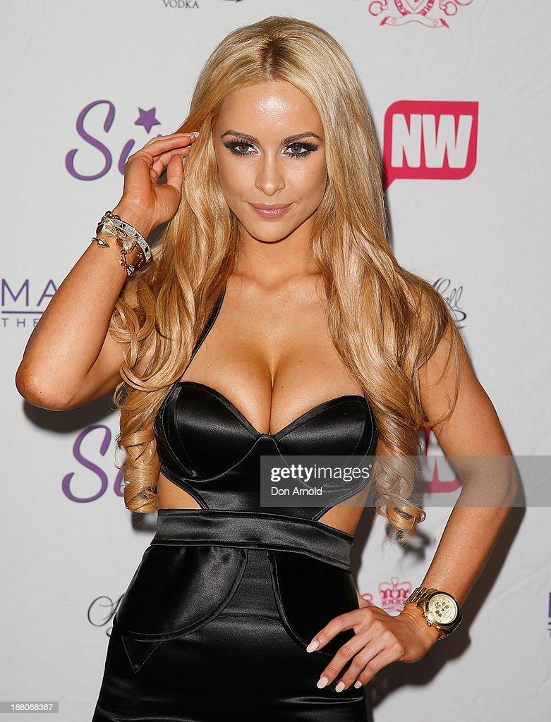 Ellie Gonzalez appears at Marquee Nightclub on November 15, 2013 in Sydney, Australia.