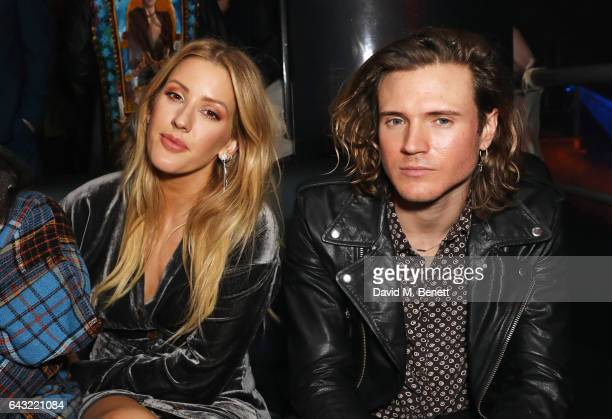 Ellie Goulding and Dougie Poynter attend Dame Vivienne Westwood and James Jagger's Mad Max party in aid of climate change during London Fashion Week...