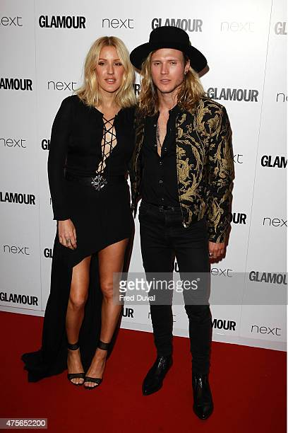 Ellie Goulding and Dougie Poynter attend the Glamour Women of the Year Awards on June 2 2015 in London England