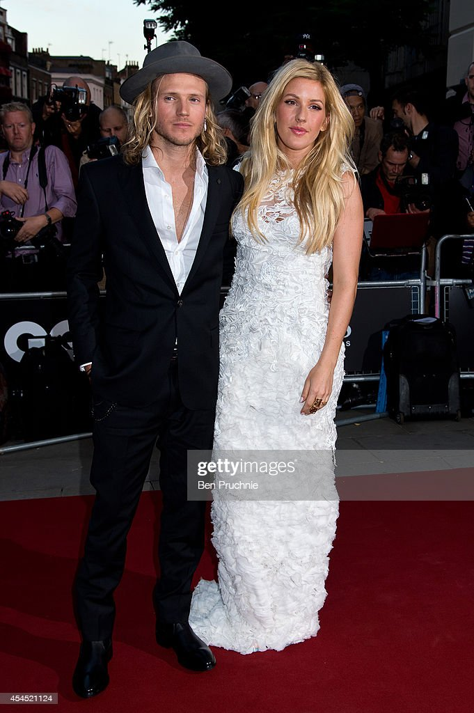 <a gi-track='captionPersonalityLinkClicked' href=/galleries/search?phrase=Ellie+Goulding&family=editorial&specificpeople=6389309 ng-click='$event.stopPropagation()'>Ellie Goulding</a> and <a gi-track='captionPersonalityLinkClicked' href=/galleries/search?phrase=Dougie+Poynter&family=editorial&specificpeople=214057 ng-click='$event.stopPropagation()'>Dougie Poynter</a> attend the GQ men of the year awards at The Royal Opera House on September 2, 2014 in London, England.