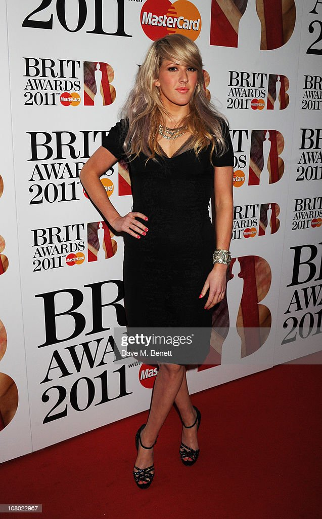 <a gi-track='captionPersonalityLinkClicked' href=/galleries/search?phrase=Ellie+Goulding&family=editorial&specificpeople=6389309 ng-click='$event.stopPropagation()'>Ellie Goulding</a> arrives at The BRIT Awards 2011 nominations announcement at indigO2 on January 13, 2011 in London, England.