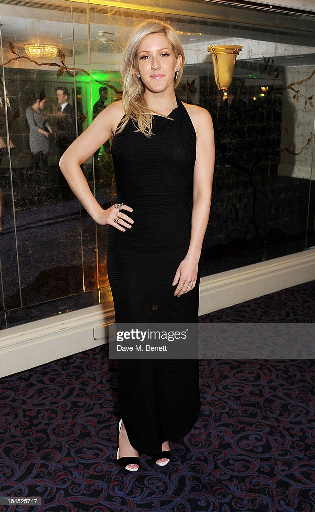 Ellie Goulding arrives at the Jameson Empire Awards 2013 at The Grosvenor House Hotel on March 24, 2013 in London, England.