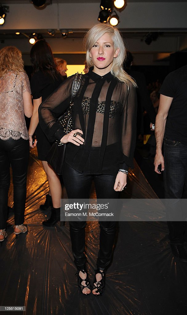 Ellie Goulding at The Launch Of House Of Dereon By Beyonce And Tina Knowles at Selfridges on September 17 2011 in London England