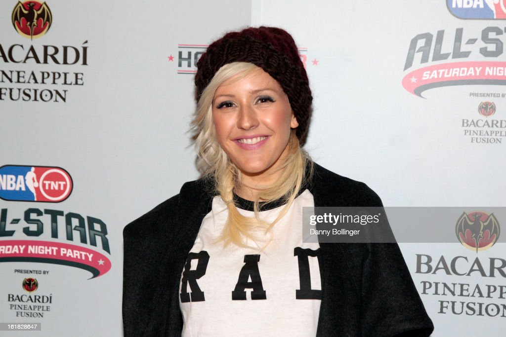 <a gi-track='captionPersonalityLinkClicked' href=/galleries/search?phrase=Ellie+Goulding&family=editorial&specificpeople=6389309 ng-click='$event.stopPropagation()'>Ellie Goulding</a> at the NBA on TNT All-Star Saturday Night Party, Presented by Bacardi Pineapple Fusion at House Of Blues on February 16, 2013 in Houston, Texas.