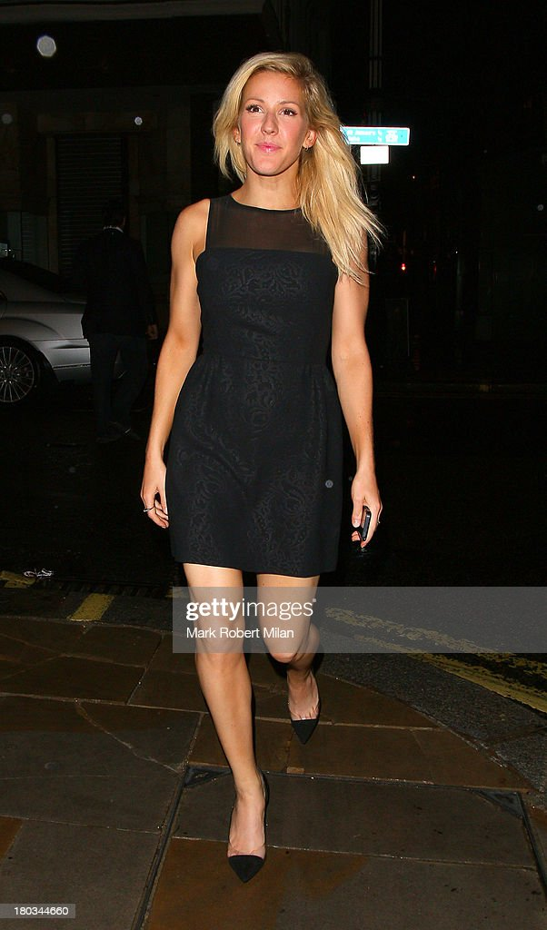 <a gi-track='captionPersonalityLinkClicked' href=/galleries/search?phrase=Ellie+Goulding&family=editorial&specificpeople=6389309 ng-click='$event.stopPropagation()'>Ellie Goulding</a> attending the Louis Vuitton Dinner to celebrate the Men's Autumn Winter 2013 Collection on September 11, 2013 in London, England.