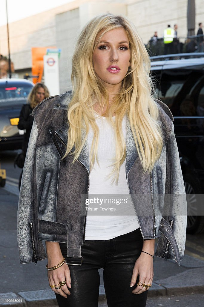 <a gi-track='captionPersonalityLinkClicked' href=/galleries/search?phrase=Ellie+Goulding&family=editorial&specificpeople=6389309 ng-click='$event.stopPropagation()'>Ellie Goulding</a> attends a photocall to launch the David Beckham for H&M Swimwear collection on May 14, 2014 in London, England.
