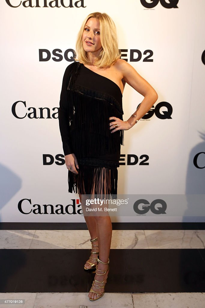 Ellie Goulding attends Dsquared2's 20th anniversary celebration at Canada House cohosted by GQ at Canadian Embassy on June 13 2015 in London England