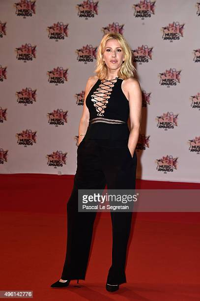 Ellie Goulding attends the 17th NRJ Music Awards at Palais des Festivals on November 7 2015 in Cannes France